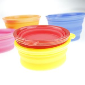 Дружественность к окружающей среде силиконового герметика Пэт съемная чаша