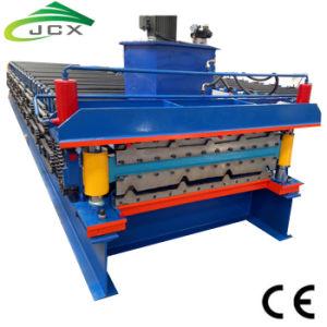 Toit de tuiles en acier de couleur de type feuille Machine-Profile Zink faire de la machine