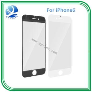 Verkaufendes äußeres vorderes Glasspitzenobjektiv für iPhone6 6g Zoll-Schwarz-Weiß