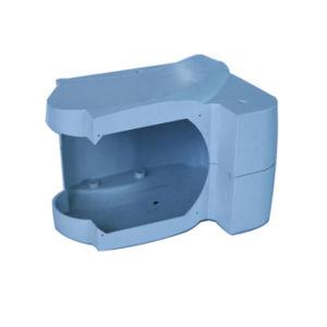 Kundenspezifische Plastikeinspritzung zerteilt Plastikkästen