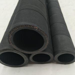 4 Zoll-flexibler abschleifender Gummischlauch /Material, das Schlauch 10bar handhabt