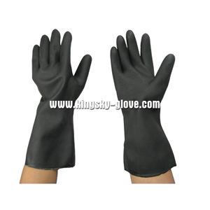 Neopreno de color negro Guante de Trabajo Industrial – Neopreno de ... 99b3e02d623