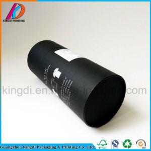 Горячая продажа картона черного цвета цилиндра футболка круглые трубы упаковке для одежды