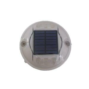 ハイライト点滅LEDのプラスチック円形の太陽道のスタッド