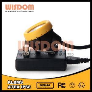 知恵の採鉱産業の携帯用ヘッドライト、抗夫の帽子ランプKl8ms