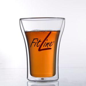 Doppel-wandiges Glastee-Cup, heiße verkaufende Glasbecher