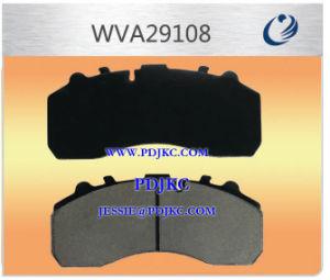 A pastilha de freio Scania Wva29202 Wva29108 Wva29087