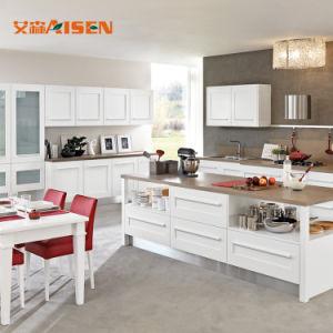 2018 de Beste Keukenkast van de Deur van de Schudbeker van de Verkoop Witte Stevige Houten