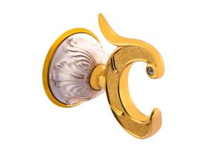 Salle de bains classique ensembles Robe décoratifs les crochets de l'or de la plaque de finition peinte