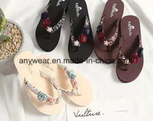 Pantoufles Chaussures pour femmes Lady Flip Flop sandale (550)