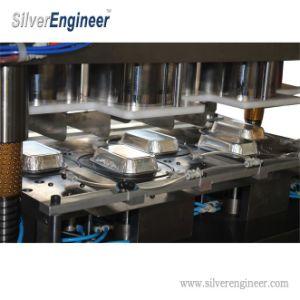 Les contenants jetables rectangulaire en aluminium pour la restauration rapide
