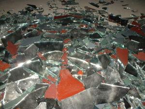 De Spaander van /Glass van de Spaander van de spiegel voor Verkoop/de Verpletterde Korrel van de Spiegel