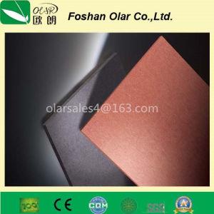 De duurzame Lichtgewicht Gekleurde Comités van de Muur van het Cement van de Vezel Buiten