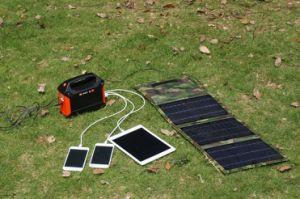De zonne Generator van de Omschakelaar van het Systeem van de Verlichting 100watts Zonne Reserve voor Huis
