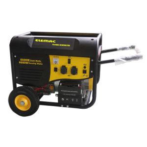 5kw línea P generador de gasolina con arranque eléctrico