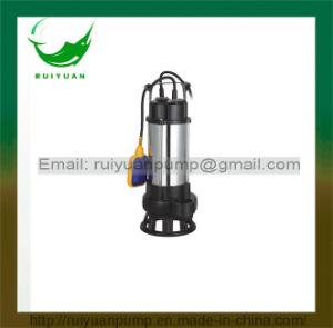 Pompa sommergibile del collegare di rame di serie 750W 1HP del galleggiante delle acque luride poco costose di Swicth per il rifornimento idrico (VM750-2F)
