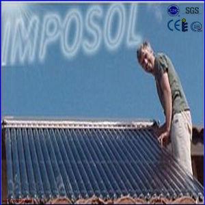 2016 Heat Pipe tubo de vacío solar a presión calentador de agua caliente