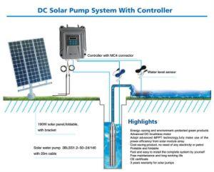 Cc48V 750 W de potência de entrada da bomba de água solares