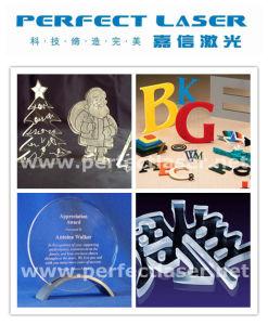 아크릴 /PVC 플라스틱 목제 널을%s 50W 이산화탄소 Laser 조판공 절단기 기계