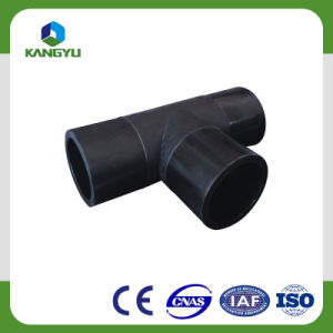 Schwarzes Farbe PET Material fabrizierte Rohrfittings