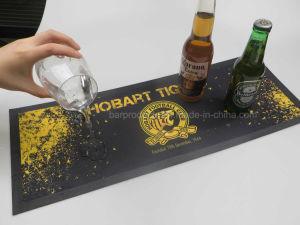La preuve en nitrile Warter non tissé Bar tapis pour la promotion de la bière