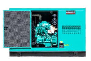 62.5kVA 50kw gerador diesel super silencioso 50Hz para venda