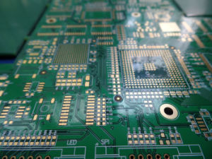 PCB de entupimento 16 BGA de camada de placa de circuito