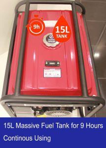 5.5HP de reacción de tipo V o eléctrico Generador Gasolina