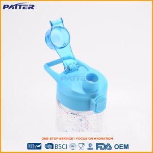 Satisfacer el servicio mayorista de moda la botella de agua potable Fancy vasos de plástico