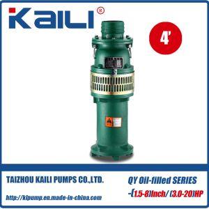 4' de sortie de pompe submersible Oil-Filled QY Nettoyer la pompe à eau(étage unique)