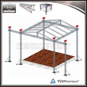 屋外アルミニウムコンサートの段階の屋根のトラスデザインの販売