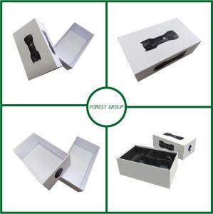 Caixa de oferta de luxo branca com tampa por grosso