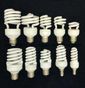 Espiral E27 B22 CFL Lámpara de ahorro de energía para la bombilla de ahorro de energía