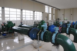 De spiraalvormige Grote Pomp van de Overdracht van de Irrigatie van de Rivier van de Capaciteit