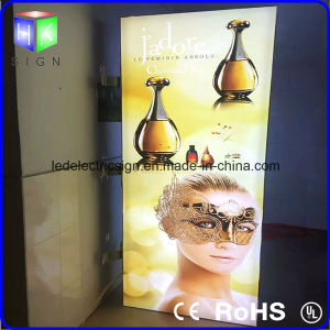 Art Photography Picture Frame Affichage boîte lumineuse à LED pour le tissu de la publicité de magasin
