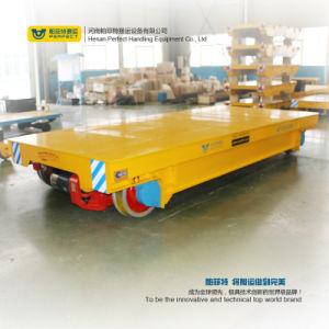 Indústria pesada Rail Vagão Plana Via Reboque Motorizado