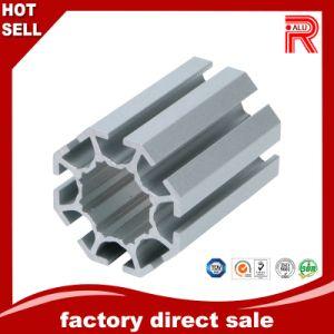 Los perfiles de aluminio extrusionado de aluminio/para la exposición muestra cuadros de caso