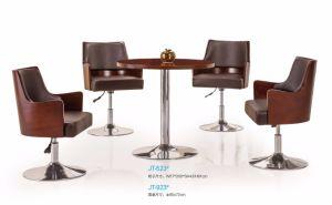 Hôtel polupar en bois café bureau meubles de lobby coffee table