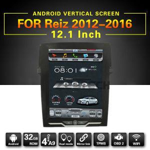 Android 6.0 dell'OEM della fabbrica 12.1  automobili DVD per Toyota Reiz
