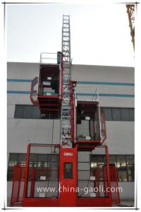 Частота Jaili средней скорости электрического на базе строительных SC200/200подъемника (G)