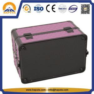 Purple Diamond cas maquillage Wil Bacs de sortie de l'EDTR (HB-6307)