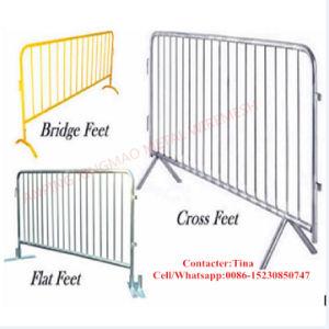 Оцинкованный/PVC покрытием дорожного управления Crowed барьер временные ограждения/ ограждения