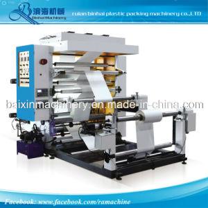 기계 2 원색판화 로고를 인쇄하는 폴리에틸렌 Flexo