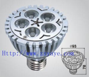 Yaye Hot Sell Factory Price 1W-12W LED Spotlight/LED Bulb mit CER, RoHS (YAYE-E27-DG5WD1)
