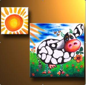 Het Schilderen van de groep voor de Zaal van Kinderen (OA-102)