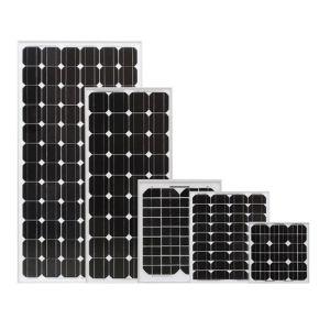 Panel solar de silicio Mono-Crystalline (10W-180W)