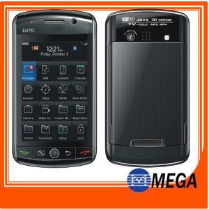 Ruft Doppel-SIM Touch Screen des Viererkabel-Band-WiFi GPS Fernsehapparat Java an (MG-F035)