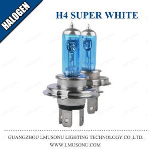 Coche Lmusonu bombilla halógena H4 Super White 12V 55W 100W