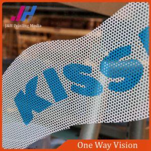 Adesivo de Vidro da janela de visão de Uma Via autocolante