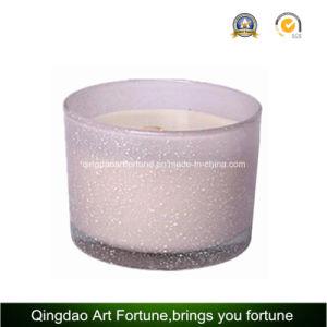 يطبع زجاج يشمّ مرطبان شمعة لأنّ بالجملة